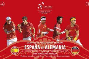 Jugadores que participan en la serie contra Alemania en Copa Davis