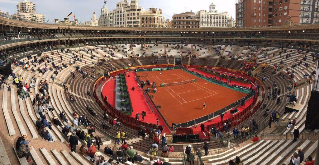Plaza de Toros de Valencia sede de la Copa Davis entre España y Alemania