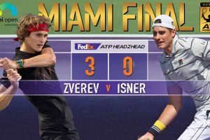 Isner y Zveren Miami Open final