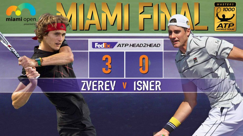 Isner y Zveren Miami Open final