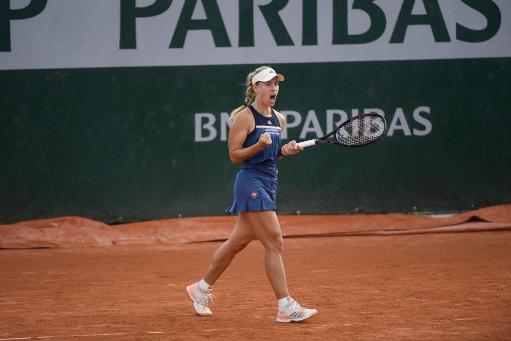 Angelique Kerber Roland Garros