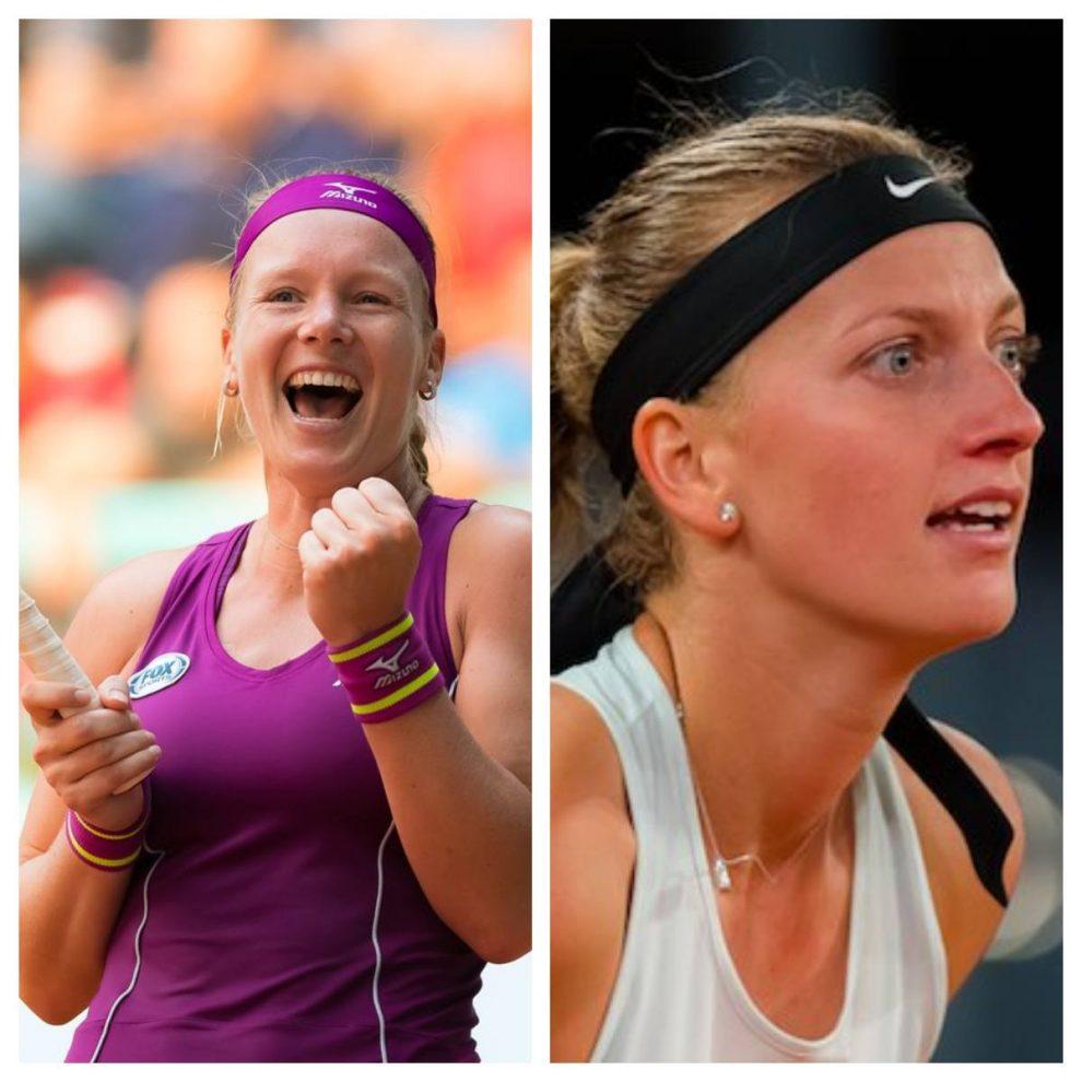Kvitova y Bertens en el Mutua Madrid Open