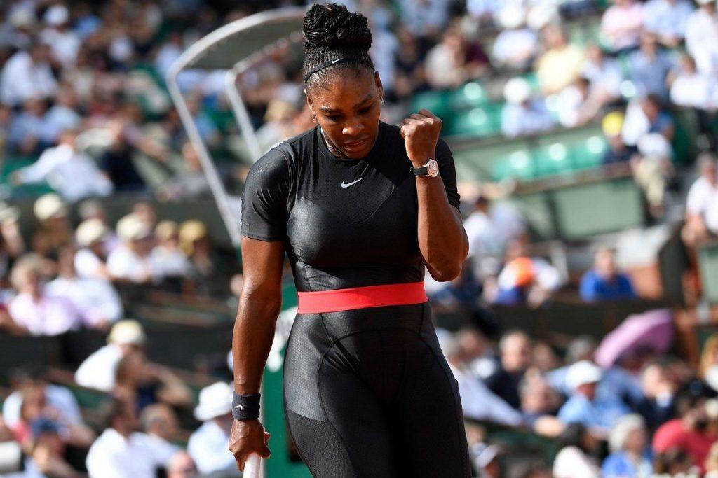 Serena Williams en Roland Garros