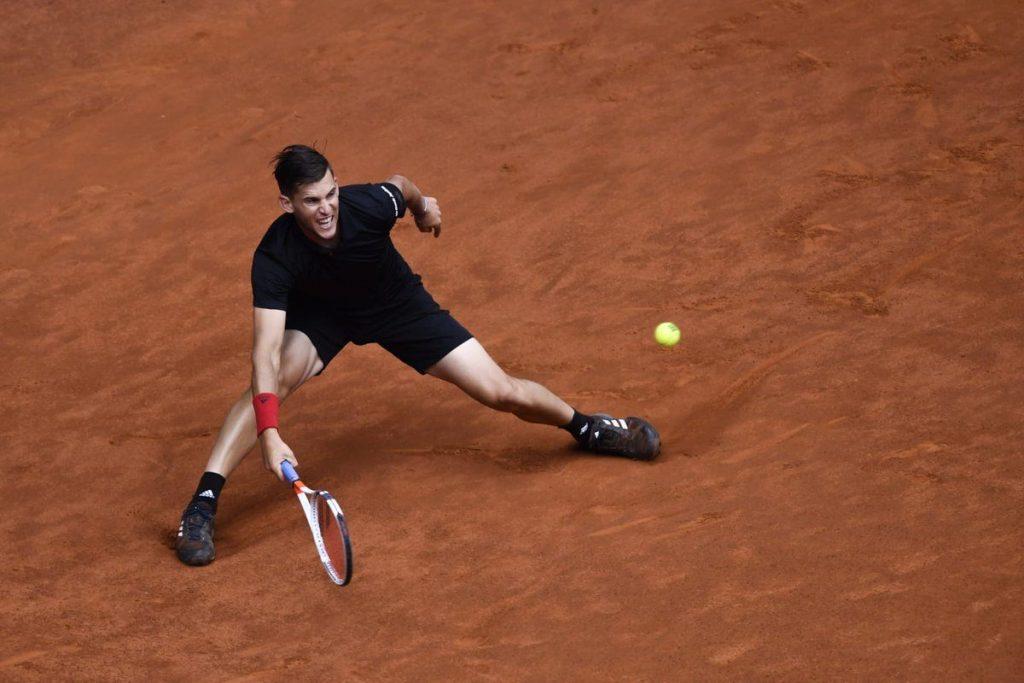 Dominic Thiem en el Mutua Madrid Open