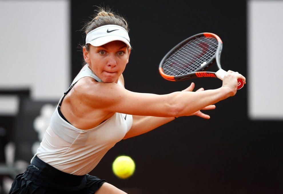 Simona Halep en el Masters 1000 de Roma
