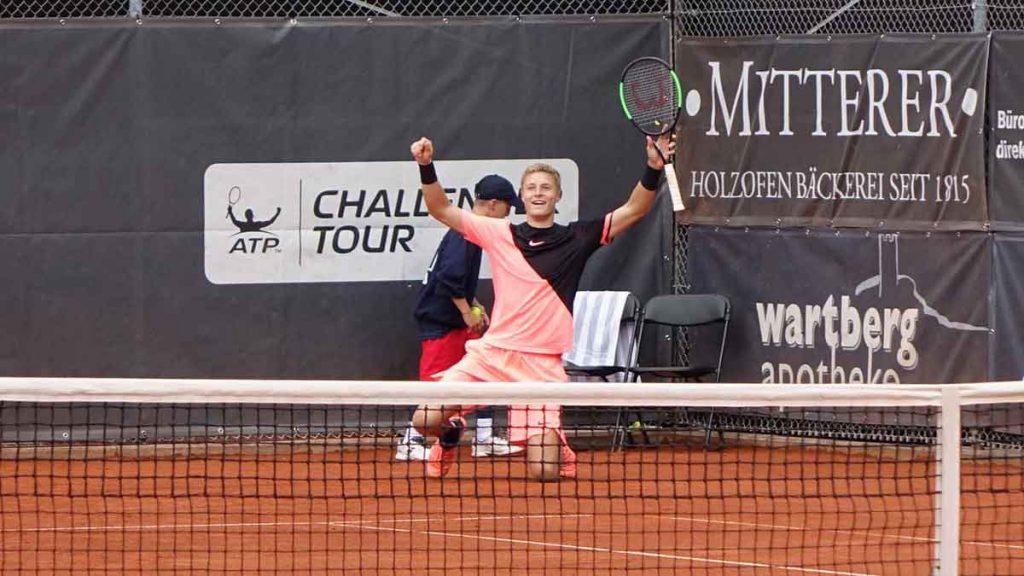 Molleker se emociona tras ganar su primer Challenger en Heilbronn