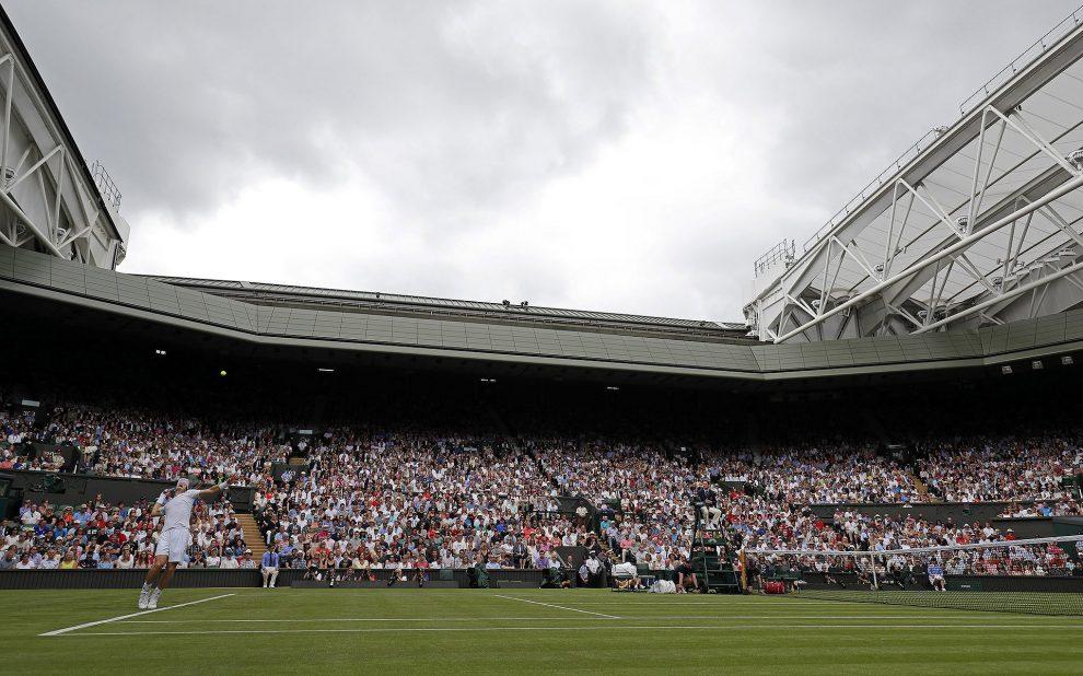 Pista central de Wimbledon