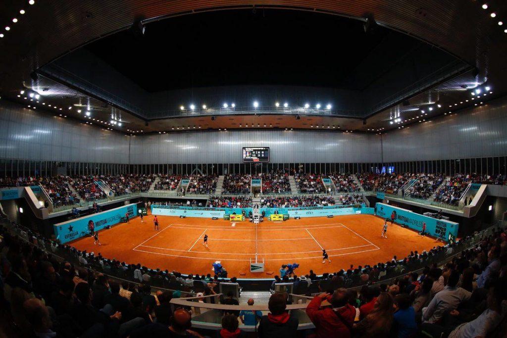 Mutua Madrid Open en la sesión nocturna