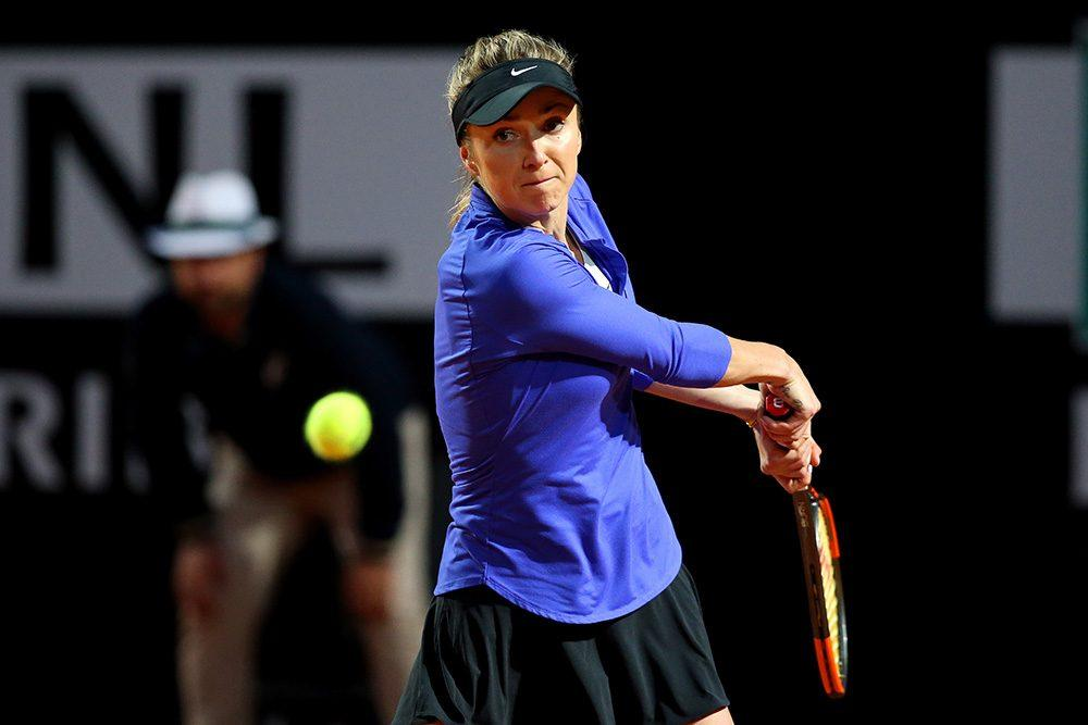 Svitolina golpea un revés en el Masters 1000 de Roma