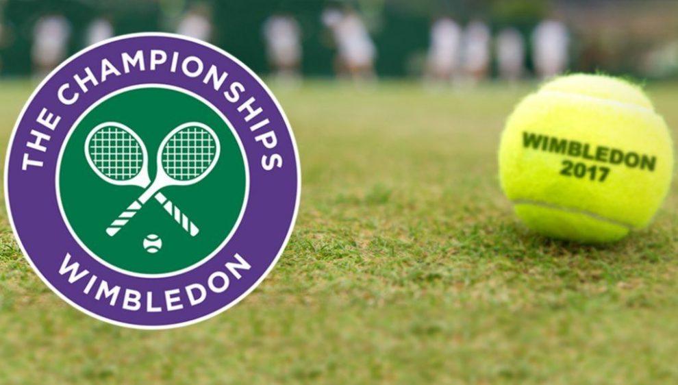 Logo y pelota oficial de Wimbledon 2018