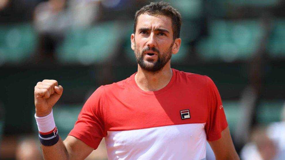 Cilic en Roland Garros 2018