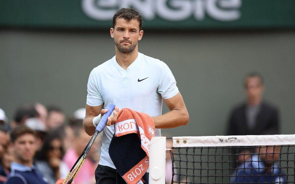 Dimitrov en Roland Garros 2018