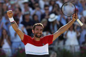 Marin Cilic celebra el título del ATP de Queen´s