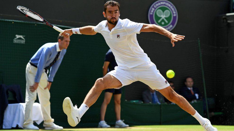 Cilic en Wimbledon 2017