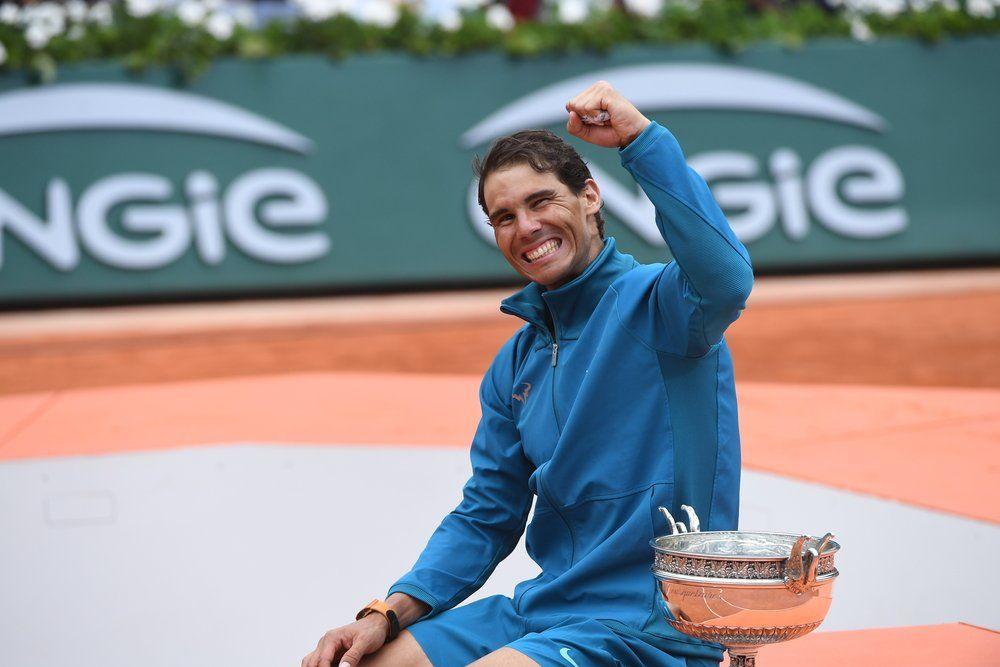 Nadal celebra su undécimo título en Roland Garros 2018
