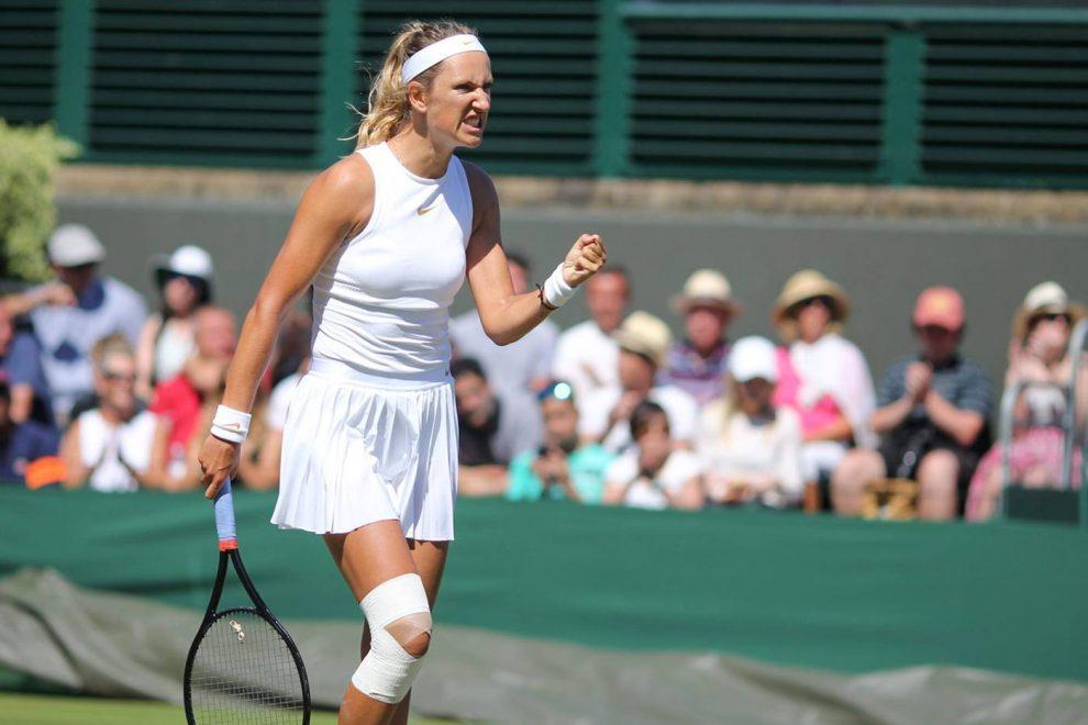Azarenka en Wimbledon 2018