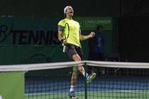 Daniel Brands celebra el título en el Challenger de Recanati
