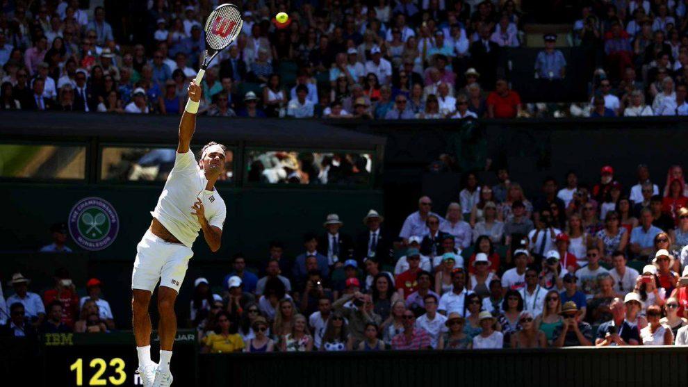 Federer en Wimbledon 2018
