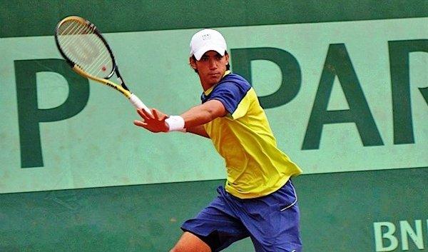 Juan Ignacio Galarza jugando Future en Córdoba ! Foto: Eldiadeescobar.com.ar