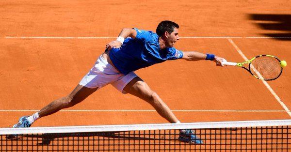 Federico Delbonis sigue sin confianza! Foto: espn.com.ar