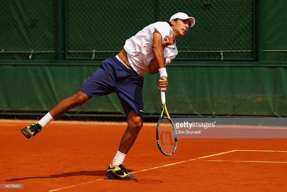 Juan Ignacio Galarza en Roland Garros 2012