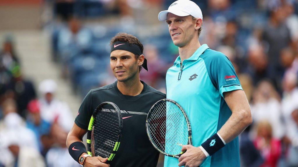 Anderson y Nadal en la final del US Open 2017