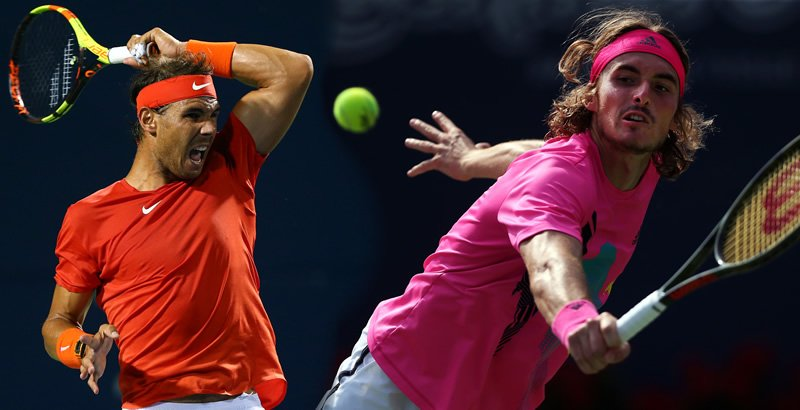 Rafa Nadal y Stefanos Tsitsipas