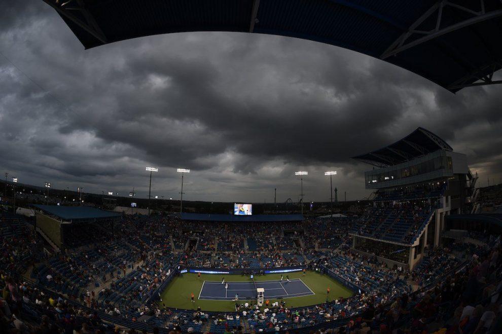 La lluvia en la jornada del jueves del Masters 1000 de Cincinnati