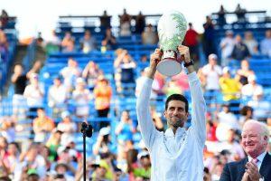 Djokovic levanta el título del Masters 1000 de Cincinnati en 2018