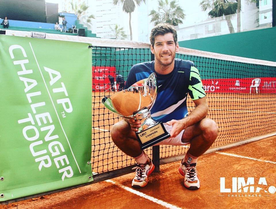 Gerald Melzer campeón del Challenger de Lima 2017 | Foto: @igmasports