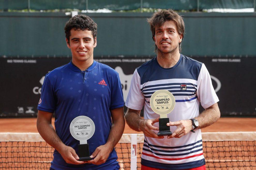 Charly Berlocq, Campeón y Jaume Munar finalista del Challenger de Rio 2017 | Foto: www.atpworldtour.com