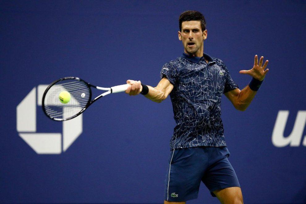 Novak Djokovic y su sólido tenis alcanzan las semifinales de US Open 2018 | Foto: @ATPWorldTour_Es