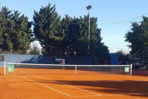 Instalaciones de San Lorenzo de Almagro donde se jugará el F6 de Argentina | Foto: @TenisCASLA