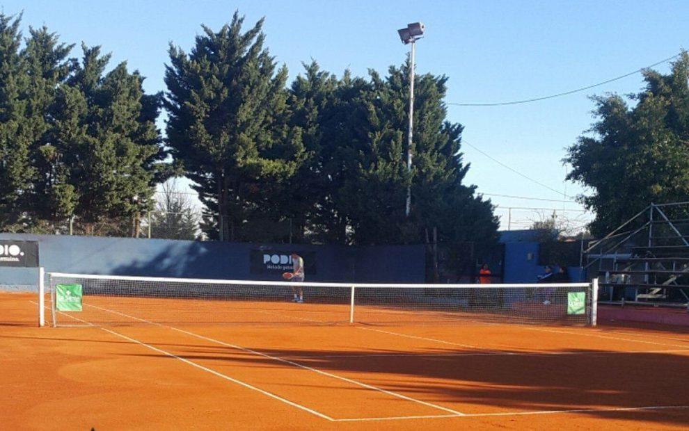 Instalaciones de San Lorenzo de Almagro donde se jugará el F6 de Argentina   Foto: @TenisCASLA