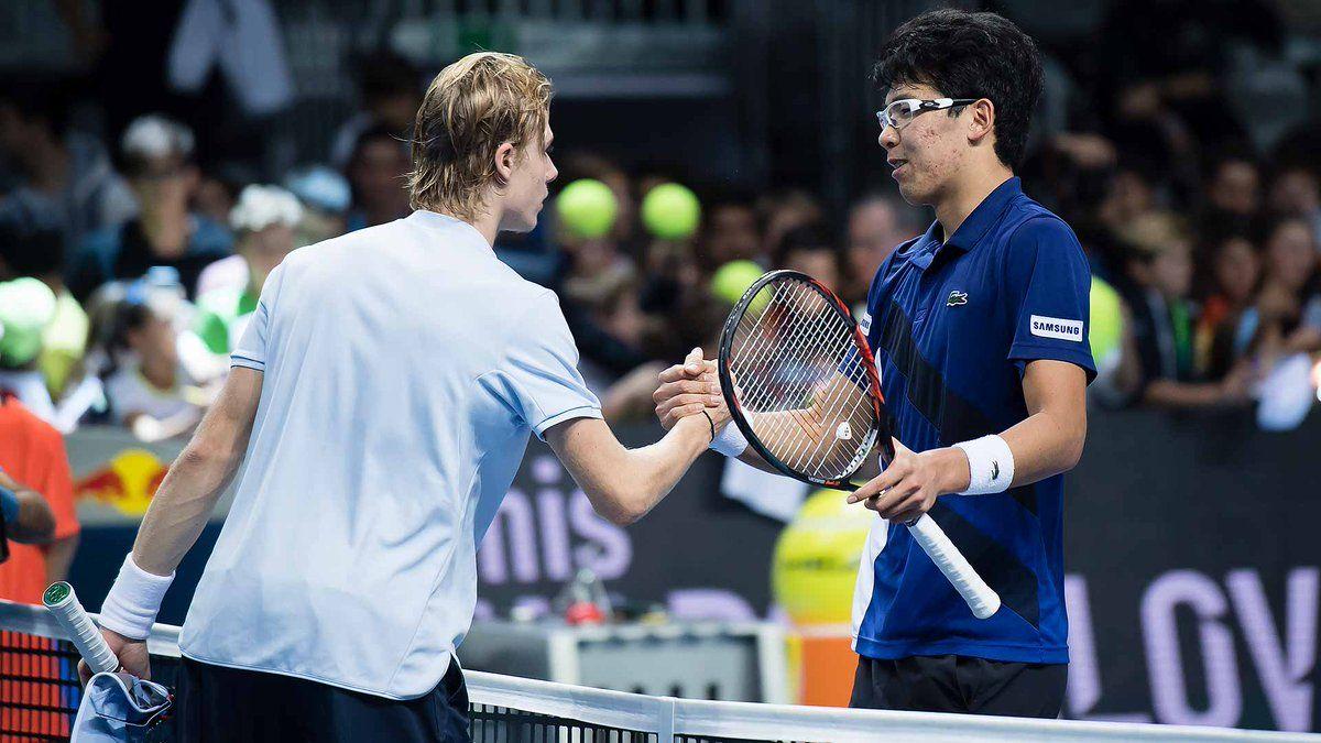Denis Shapovalov y Hyeon Chung atractivo partido de la primera ronda del Japan Open | Foto: ATPWorldTour_Es
