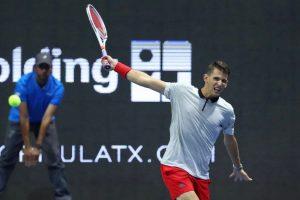 Thiem golpea un revés en el ATP 250 de San Petesburgo