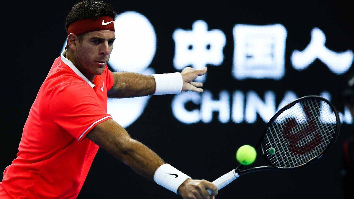 Tras su triunfo ante Karen Khachanov, Delpo clasifica al Nitto ATP Finals | Foto: @ATPWorldTour