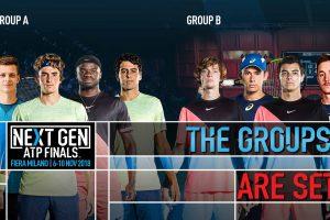 Presentación de los Grupos de Next Gen ATP Finals 2018   Foto: atpworldtour.com