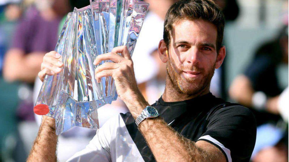 Del Potro se llevó el título en Indian Wells
