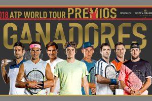 Ganadores de los premios ATP 2018