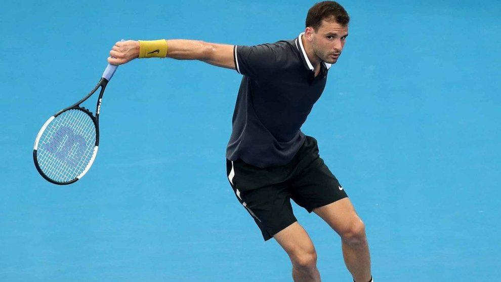 Dimitrov corta un revés en el ATP de Brisbane