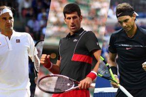 Big Three finales Grand Slam