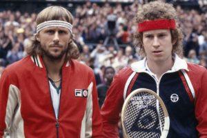 estadisticas rivalidad Borg McEnroe