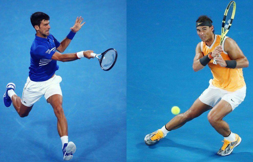 Djokovic y Nadal Open Australia