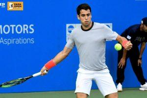 Munar golpea una derecha en el ATP de Pune