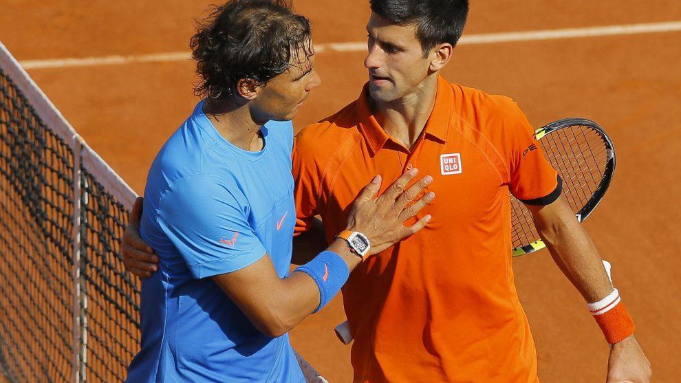 Nadal y Djokovic Roland Garros