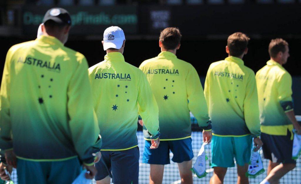 Australia Copa Davis 2019 | Foto: @daviscup