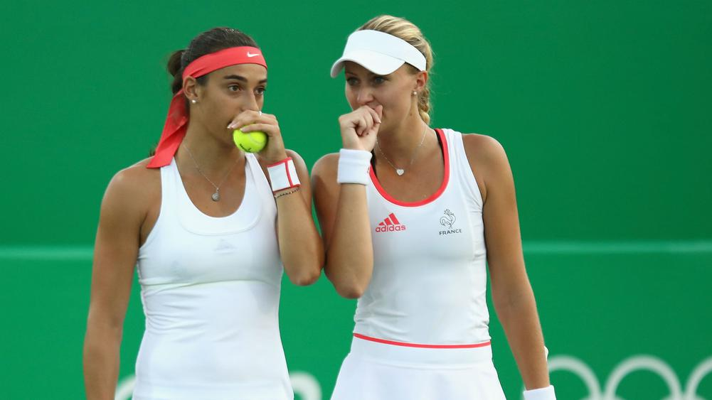 Caroline Garcia y Kristina Mladenovic
