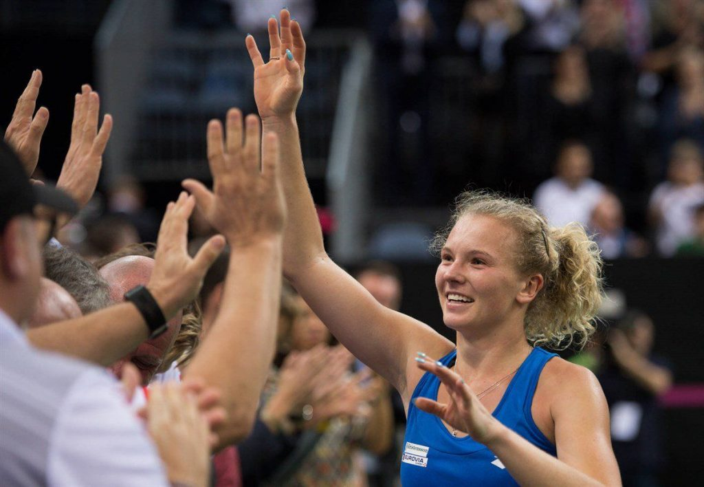 Siniakova Fed Cup