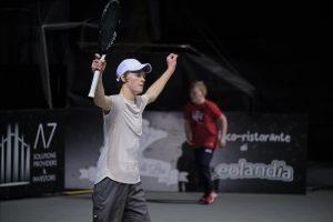 Jannik Sinner tenis italiano